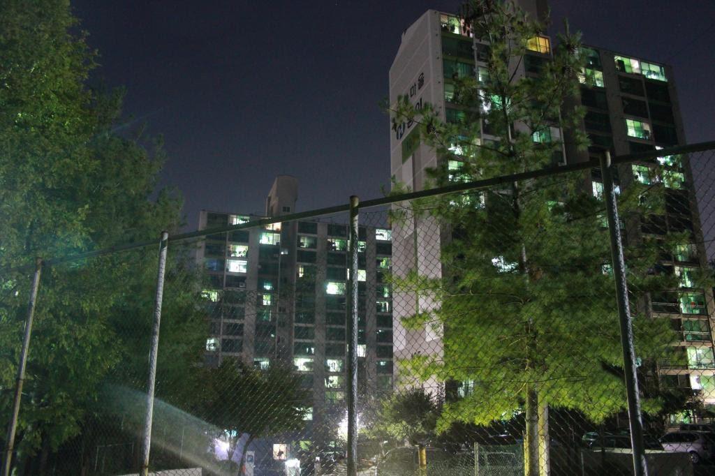 Asan apartments at night.jpg